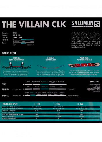 Deska snowboardowa Salomon Villain Classicks