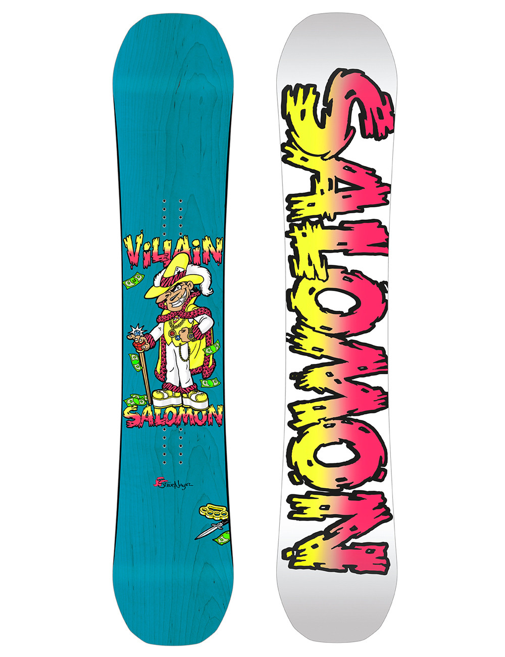 Deska snowboardowa Salomon The Villain Classicks 20182019