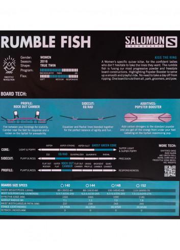 Deska snowboardowa Salomon Rumble Fish