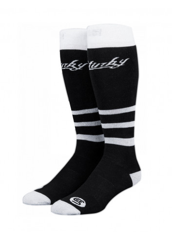 Skarpety Stinky Socks Black White