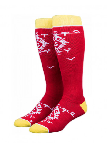 Skarpety Stinky Socks Red Kitka