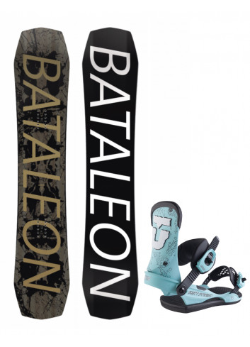 Zestaw Bataleon Global Warmer 157 + Union Scott Stevens M