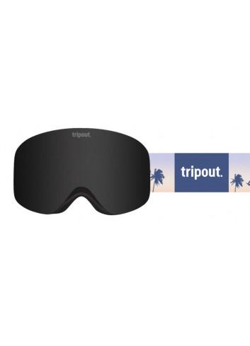 Gogle Tripout Racer Sunrise Black z polaryzacją