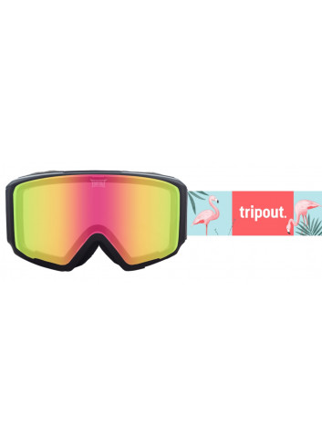 Gogle Tripout Blaze Flamingo Light Pinky