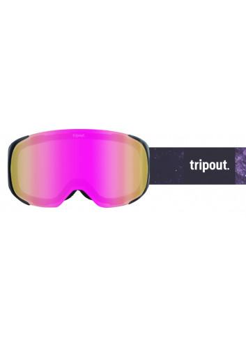 Gogle Tripout Steez Galaxy Pink
