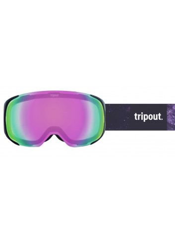 Gogle Tripout Steez Galaxy Purple