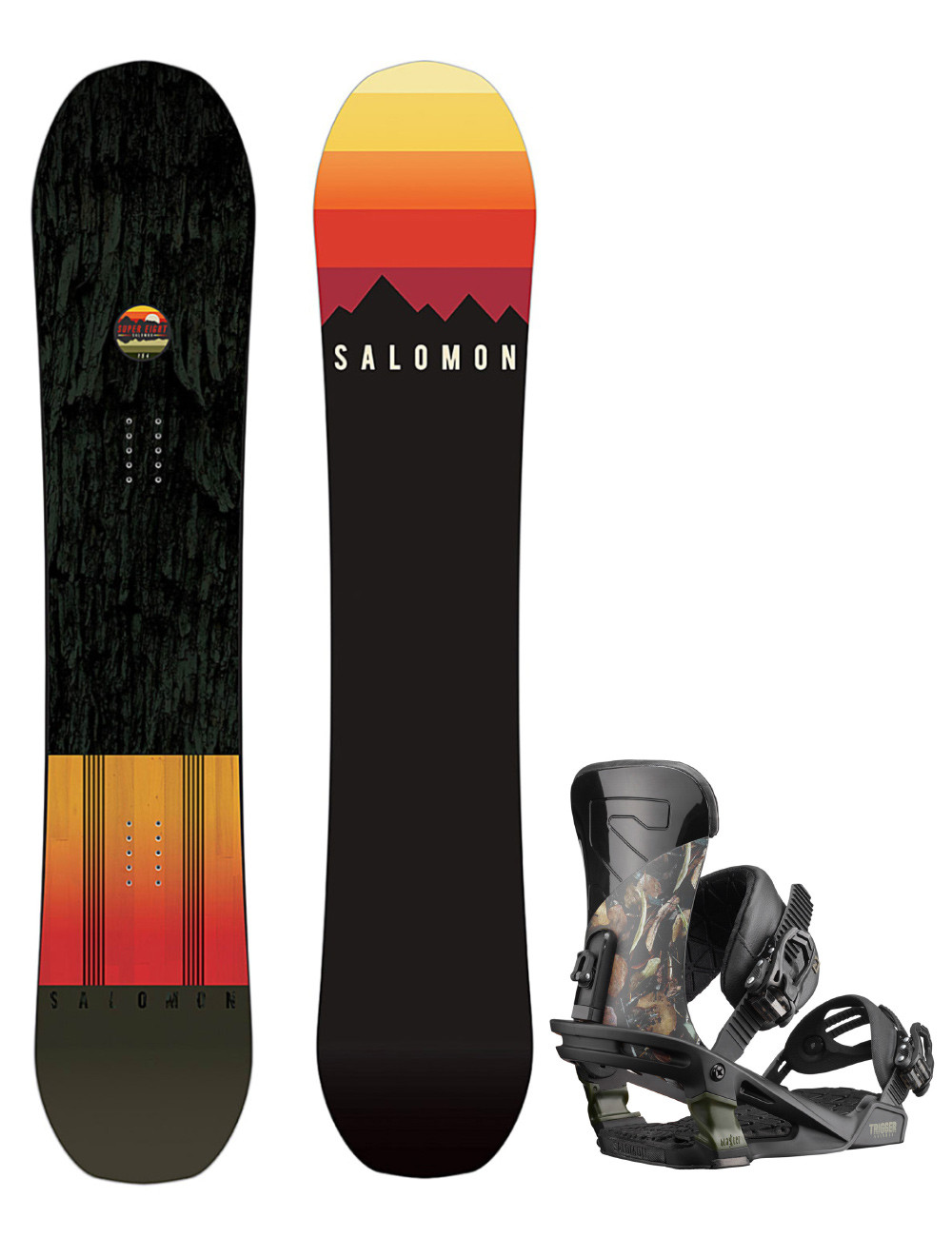 Zestaw Salomon Super 8 + Salomon Trigger L
