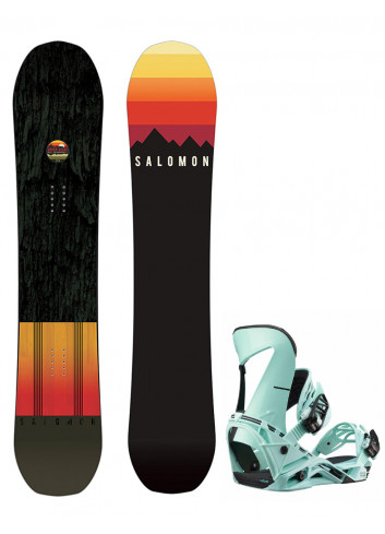 Zestaw Salomon Super 8 + Salomon Hologram L