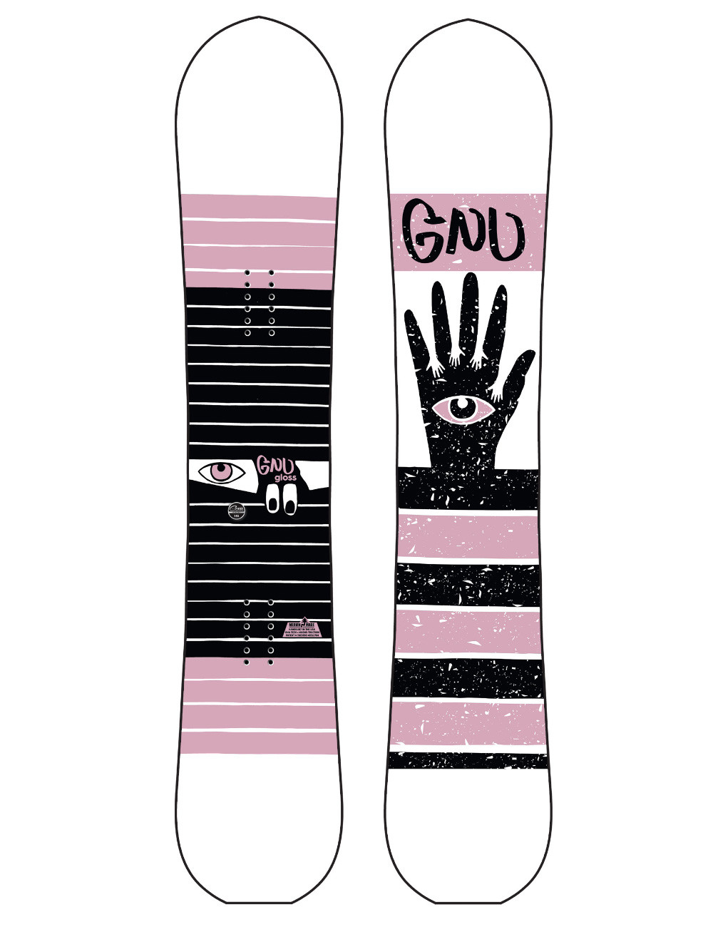 Deska snowboardowa GNU Gloss