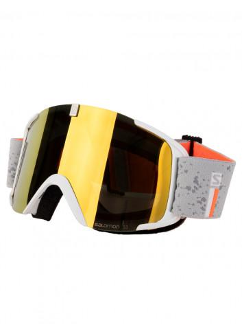 Gogle narciarskie Salomon XVIEW white