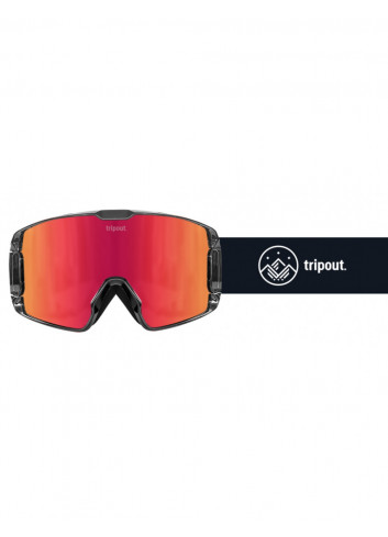 Gogle Tripout TRX Black Orange Fire