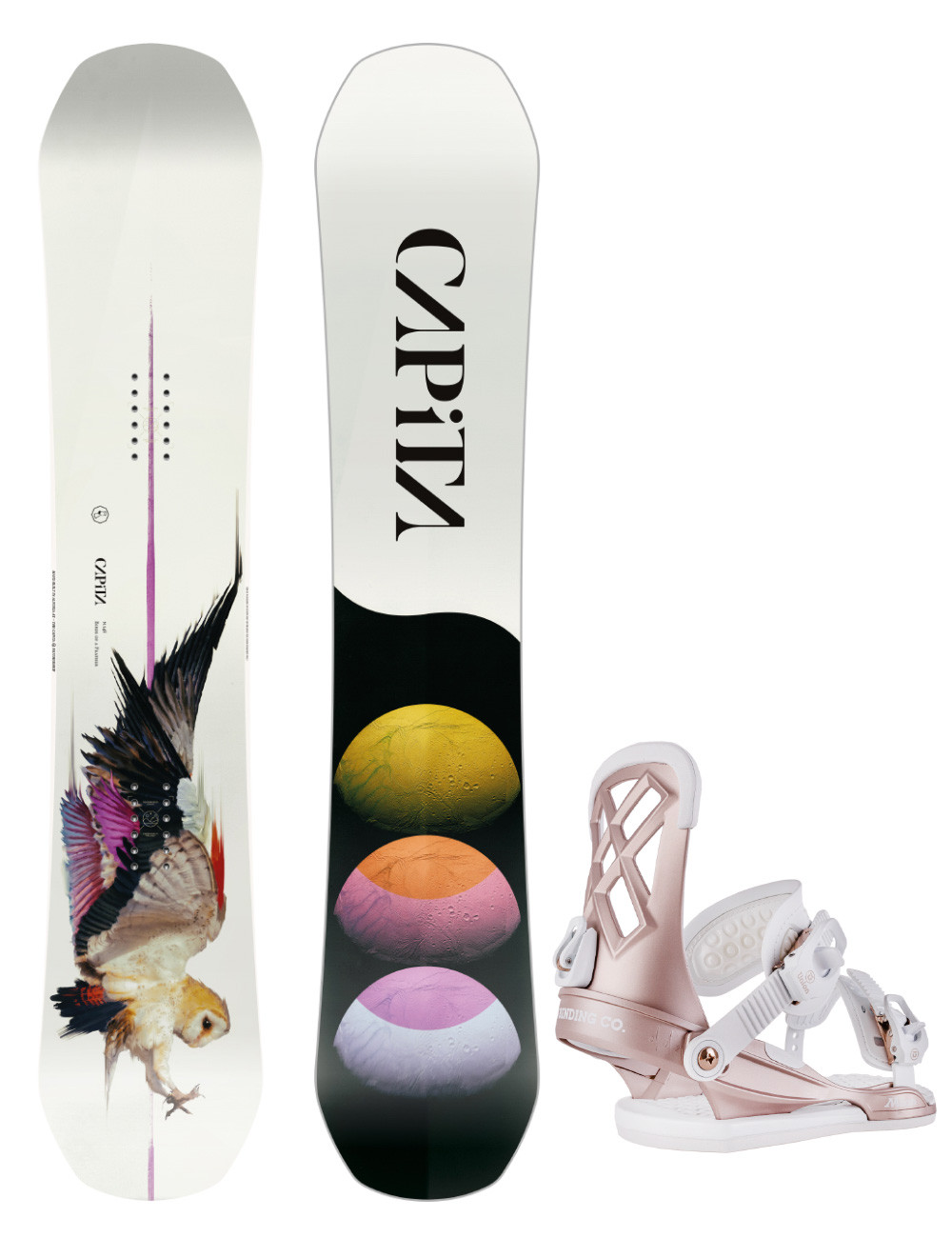 Zestaw Capita Birds Of A Feather + Union Milan M