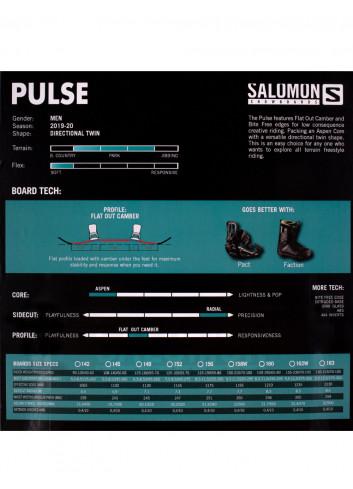 Zestaw Salomon Pulse Wide + Drake Fifty XL
