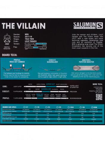 Zestaw Salomon Villain 153 + Salomon Hologram M