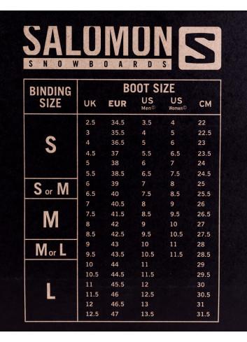 Zestaw Salomon Man's Board (różne długości) + Salomon Alibi L