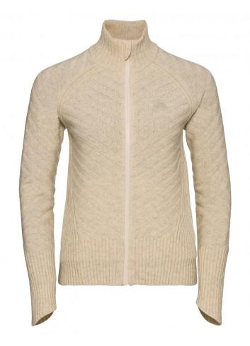 Damska bluza termoaktywna z zamkiem 100% MERINO ODLO UNITY KINSHIP X-WARM