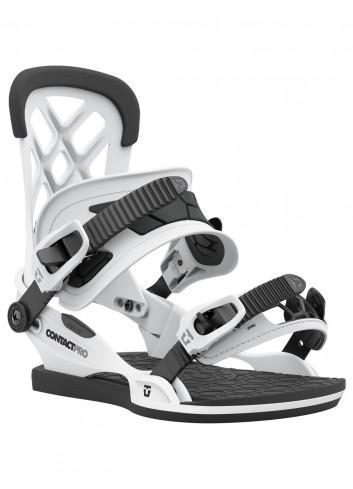 Wiązania snowboardowe Union Contact Pro White
