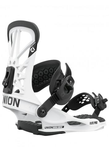 Wiązania snowboardowe Union Flite Pro White