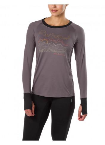 Damska koszulka termoaktywna DAKINE LUPINE SHARK/BLACK