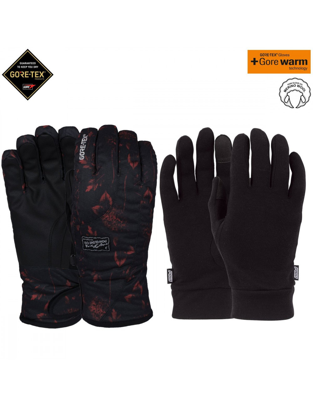 Rękawice POW Crescent Gore-Tex Short Glove