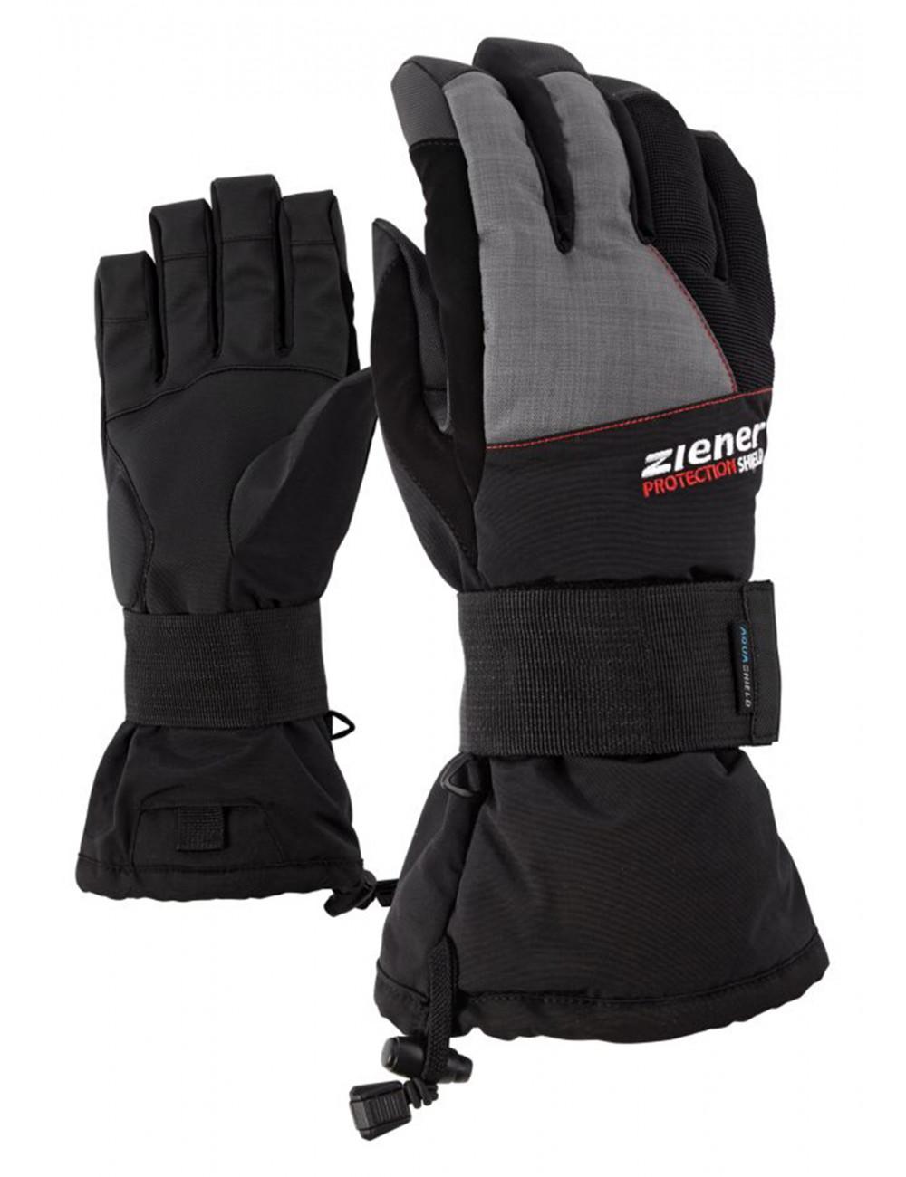 Rękawice snowboardowe z ochraniaczem Ziener Merfos
