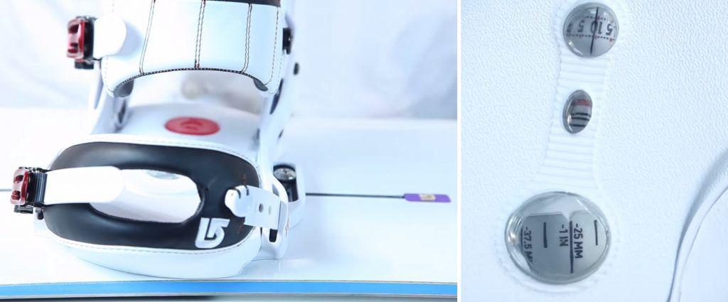 448a9dfa44b634 Aby to zrobić, będziesz potrzebował jedynie krzyżowego śrubokręta oraz  swojego buta snowboardowego, aby poprawnie wyregulować długość wiązania.